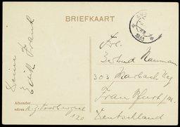 Briefkaart van Edith Frank aan Gertrud Naumann