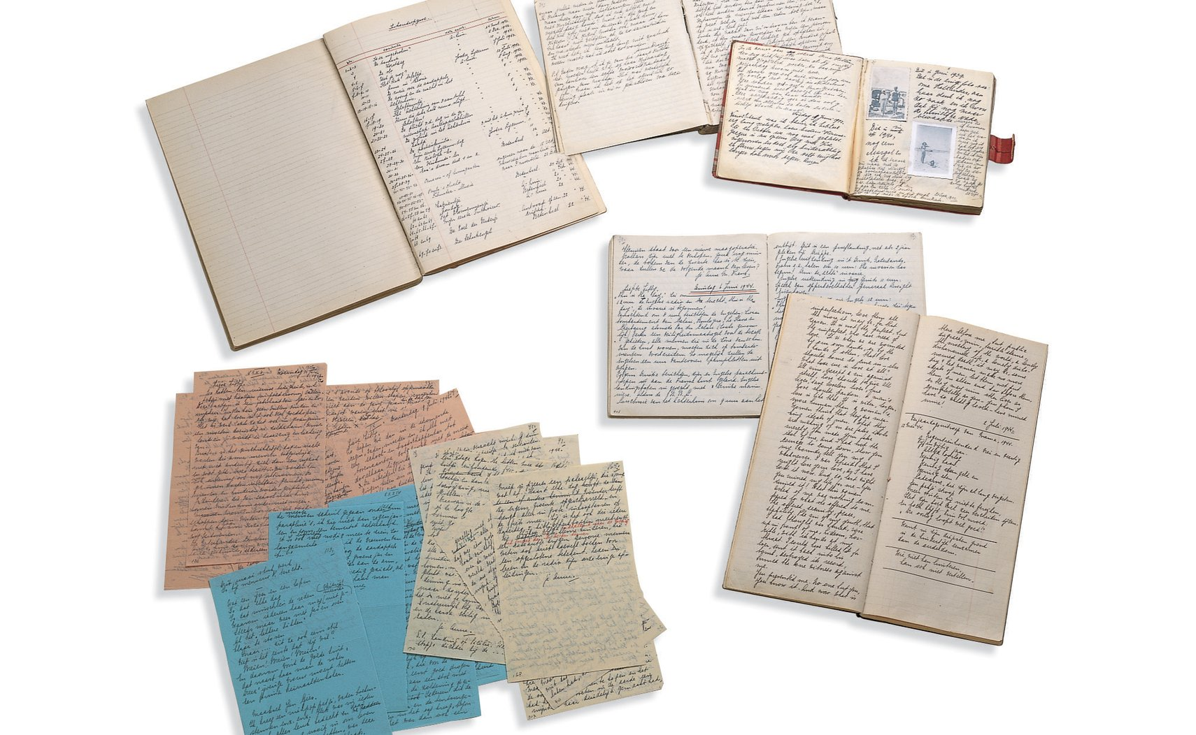 The manuscripts of Anne Frank