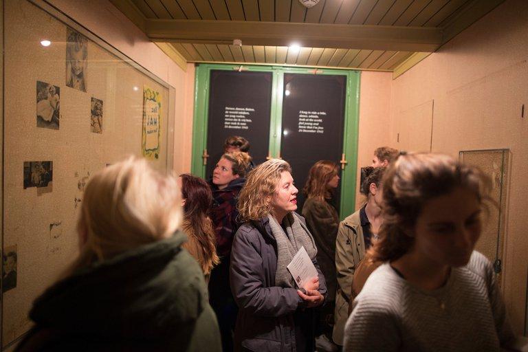 Willkommen, das Anne Frank Haus wird modernisiert